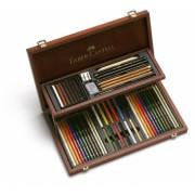 Cutie Lemn 54 Buc Art&Graphic Compendium Faber-Castell