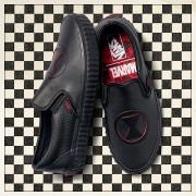 Sneakerși pentru femei Vans Classic Slip-On x Marvel Black Widow VA38F7U7K