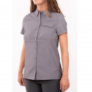 Blusa Lippi W Rosselot Short Sleeve Gris