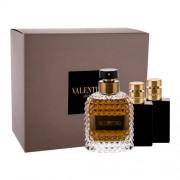 Valentino Valentino Uomo set cadou Apa de toaleta 100 ml +Balsam dupa ras50 ml + Gel de dus 50 ml pentru bărbați