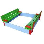 Loc de joacă cu nisip pentru copii 114/ 114 cm