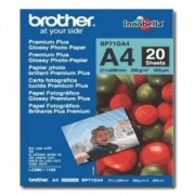 Hartie foto Brother BP71GA4, 20 bucati glossy A4