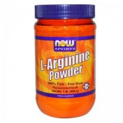 Л-Аргинин - L-Arginine Powder 454гр. - NOW FOODS, NF0210