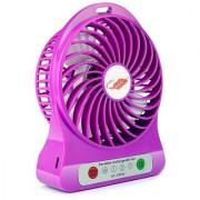 4-inch 3 Speeds Electric Portable Mini Fan Rechargeable Small Powerful Li-ion Battery Fan Mini USB Fan