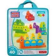 Конструктор Mega Bloks - Научи формите - Mattel, 175033