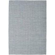 Handgeknüpft. Ursprung: India Kelim Honey Comb - Honeycomb Blau Teppich 160x230 Moderner Teppich