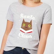 The Christmas Collection Santa Claws Women's T-Shirt - Grey - XL - Grey