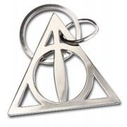 Noble Collection Harry Potter - Deathly Hallows Metal Keychain