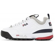 Fila Disruptor Color Block Low - sneakers - uomo - White/Black/Red