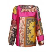 AMY VERMONT Bluse mit extravagantem Druck, multicolor