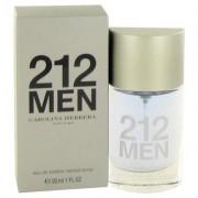 212 For Men By Carolina Herrera Eau De Toilette Spray (new Packaging) 1 Oz