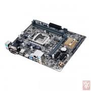 Asus H110M-A/M.2, Intel H110, VGA by CPU, PCI-Ex16, 2xDDR4, SATA3/M.2, VGA/DVI/HDMI/USB3.0, mATX (Socket 1151)