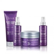 Kit Blindagem dos Fios Eudora: Shampoo + Primer + Máscara + Spray Selador