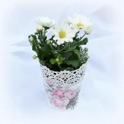 Ghiveci decorativ Romantic Roses - 8562