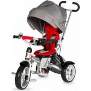 Tricicleta multifunctionala Coccolle Giro Rosu