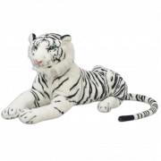 vidaXL Tiger Toy Plush White XXL