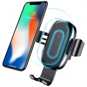 Baseus Gravity Air Vent Qi Fast Wireless Charging Car Mount Holder