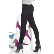 Octavia női legging, Push-Up hatással fekete