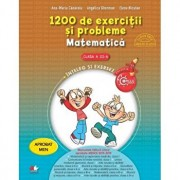 1200 de exercitii si probleme de matematica. Clasa a III-a/Ana Maria Canavoiu, Angelica Gherman, Elena Niculae