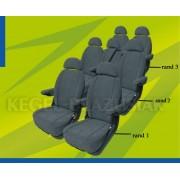Husa scaun auto Van Minibus S3 la bucata pentru Citroen C8 Fiat Ulysse Honda FR-V Lancia Phedra Mercedes Viano Vito Univan Peugeot 807 Renault Espace - BA-5-1408-258-3023