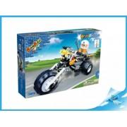 Stavebnice Banbao Police motorka