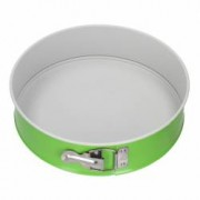 Forma tort rotunda 24cm invelis Non-Stick verde SNB
