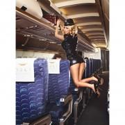 Еротичен костюм Sexy Stewardess S/M