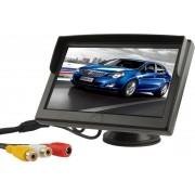 5 inch TFT LCD kleurenmonitorstandaard BeveiligingstFT-monitor (zwart)