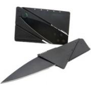 Shoppingekart C001 Card pattern Knife 1 Swiss Army Card(Black)