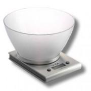 Laica Bilancia Elettronica Da Cucina, Portata Fino A 3 Kg E Divisione 1Gr, Base In Alluminio E Ciotola In Vitrex
