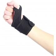Protección Del Codo Brazalete Banda Arm Finger Lock Baloncesto Tenis Protector Deportivo Al Aire Libre-Negro