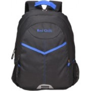 Red Chilli 15.6 inch Laptop Backpack(Blue, Black)