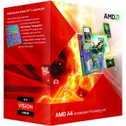 "CPU AMD skt FM2 A4 X2 4000 3.00/3.20GHz, 1MB cache, 65W, BOX ""AD4000OKHLBOX"""