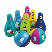 Barbo Toys - Mumin Mjukt Bowlingset