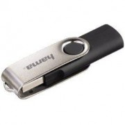 Флаш памет 16GB'Rotate'USB 2.0, черна - HAMA-94175