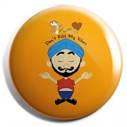 The Crazy Me Don't Kill My Vibes Button Badge(Set of 2)