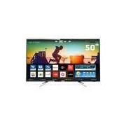 Smart TV LED 50 UHD 4K Philips 50PUG6102 com Micro Dimming, Pixel Plus, Incredible Surround, HDMI e USB