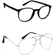 Dcmr Over-sized Sunglasses(Clear)