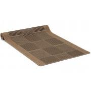 Brick brun - gångmatta på metervara