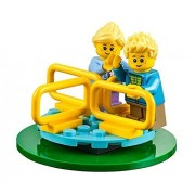 LEGO City MiniFigure: Twins on Merry-Go-Round (Blond Boy & Girl) 60134