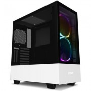 Кутия NZXT H510i Elite Smart Matte Mid-Tower, White