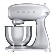 SMEG Retro Köksmaskin Silvergrå