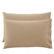 Bassetti 2 Federe per guanciali Bassetti Time 50x80 - tortora 1694