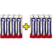 Set 8 baterii alcaline AA, Panasonic Pro Power
