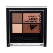 Manhattan Eyemazing Effect Eyeshadow Palette fard de pleoape 15 g pentru femei 95R Brownie Break