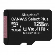 Kingston Canvas Select Plus Card MicroSD 128GB Class 10 A1