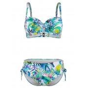 Sunflair Bikini Sunflair wit/blauw