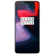 "Smart telefon OnePlus 6 Silk White DS 6.28""FHD+ ALED, OC 2.8GHz/8GB/128GB/20+16&16Mpix/4G/8.1"