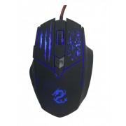 Miš USB Jetion JT-DMS055, Gaming 2400dpi, Crna-plava