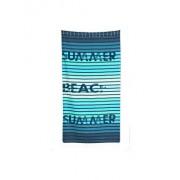 Prosop de plaja, Buldan's, 100 x 180 cm, 324BLD1414,bumbac, Albastru